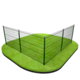 Сетчатый 3D-забор